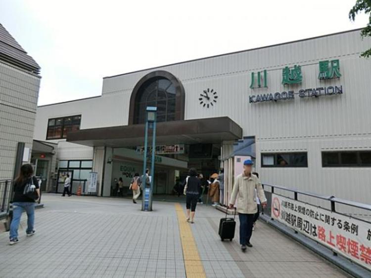東武鉄道川越駅1280m