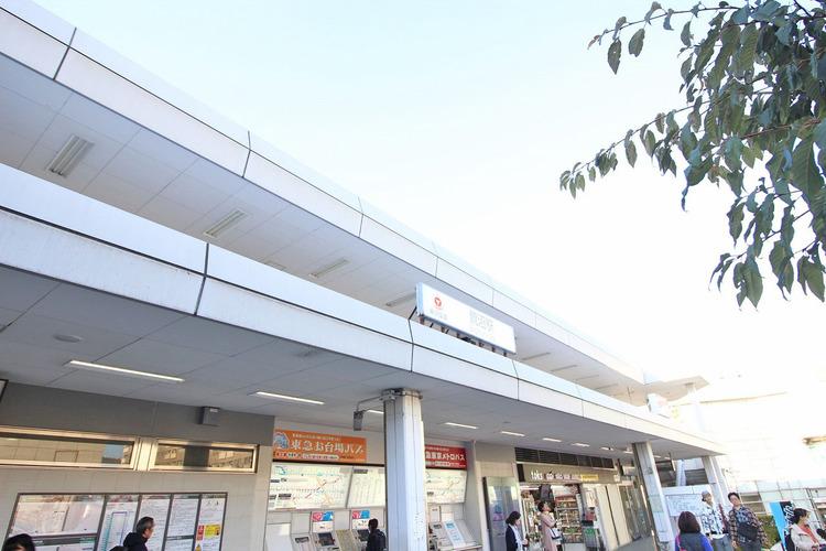 鷺沼駅 距離600m