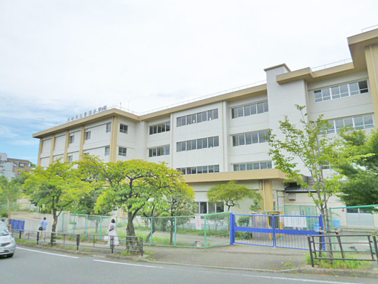 川崎市立鷺沼小学校 距離600m