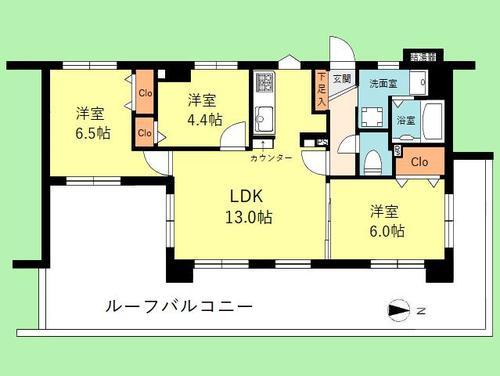 クリオ武蔵新城参番館の画像