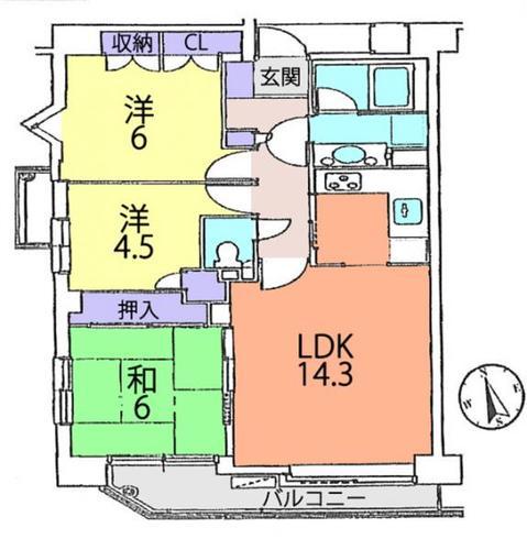 松戸東パーク・ホームズの物件画像