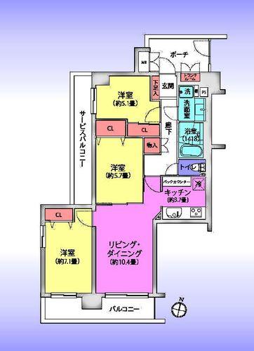 ソフィア浦和コトー壱番館の物件画像