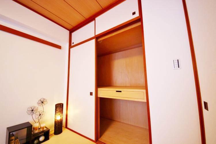 和室約5.6帖収納スペース