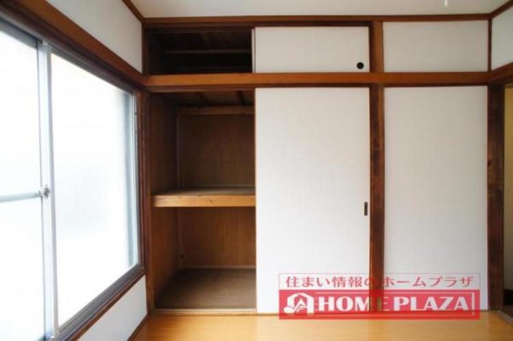 大容量の収納付きで、お部屋を広くお使いいただけます!