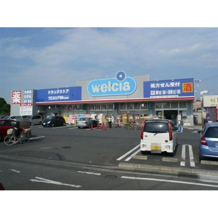 ウェルシア仙波店(約450m)