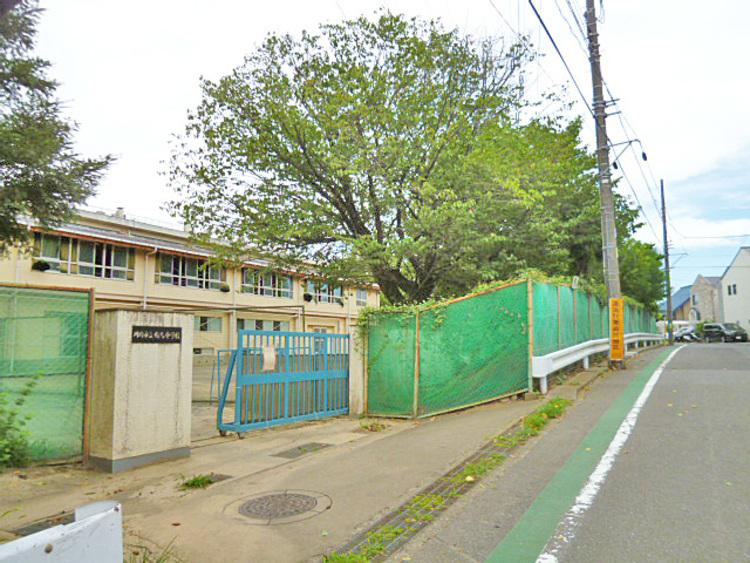 川崎市立有馬中学校 距離850m