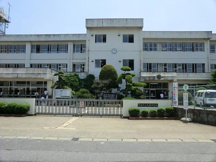 野田市立北部中学校1450m