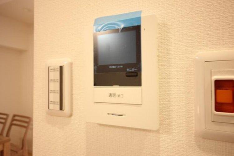 テレビモニタ付きインターフォン