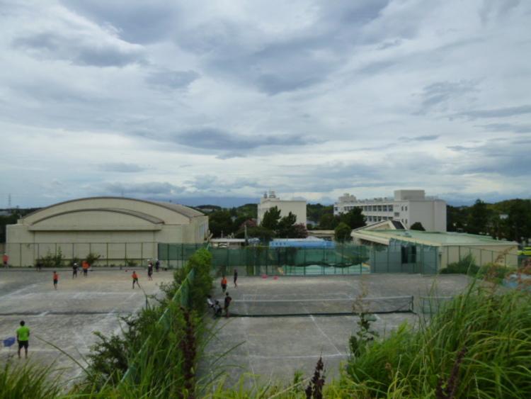 横浜市立山内中学校 距離280m