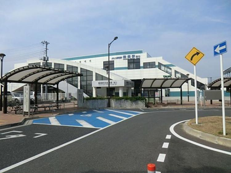 東武鉄道梅郷駅1200m