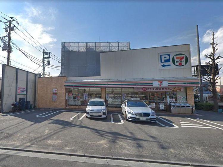 セブン‐イレブン矢口渡駅前店 徒歩3分 210m