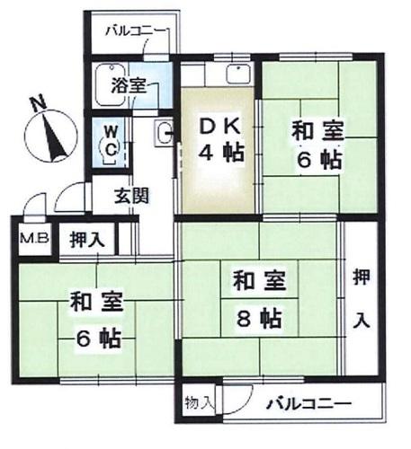 鶴甲コーポ12号館の物件画像
