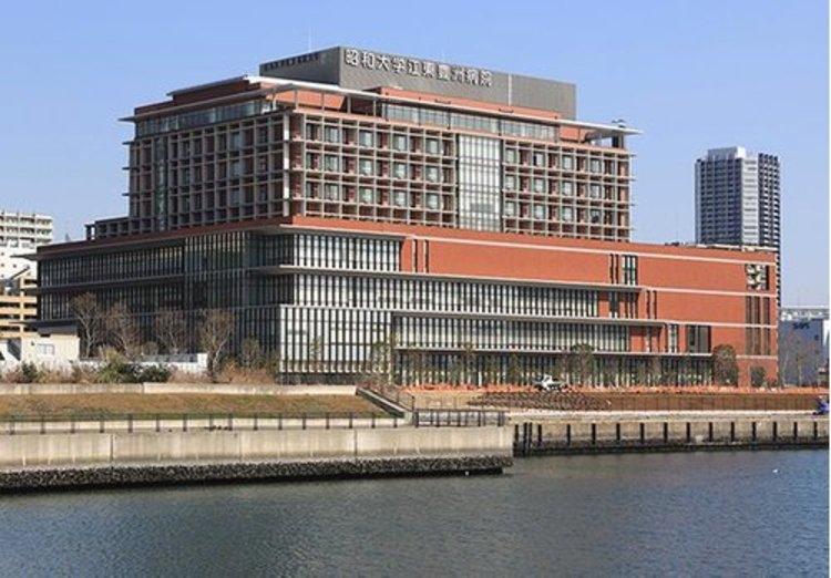 昭和大学江東豊洲病院まで1250m まごころの医療 安全・安心の医療 地域と連携する医療 医療人の育成