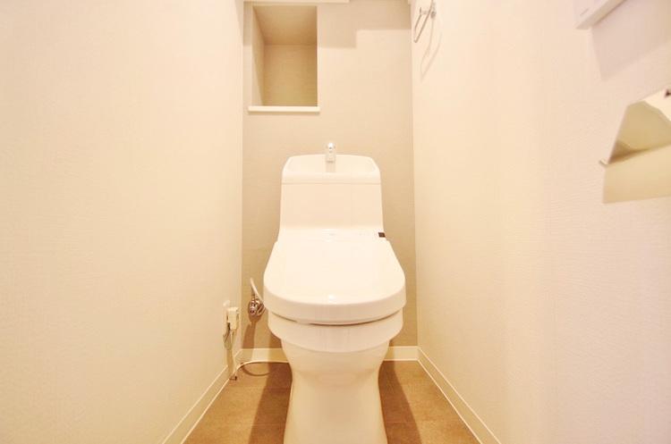 トイレはきれいにリフォーム済み