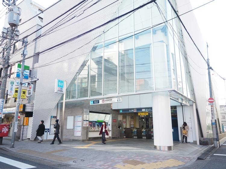 東京メトロ丸の内方南線「中野新橋」まで640m