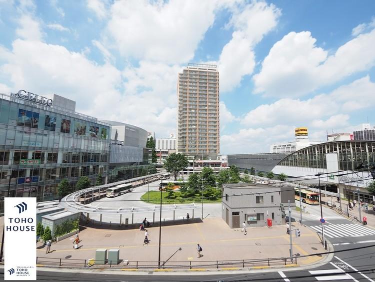 中央線「武蔵小金井」駅まで240m