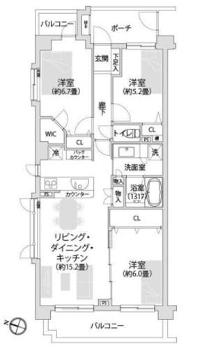 ◇ オーベル横濱鶴見セントラルパーク ◇の物件画像