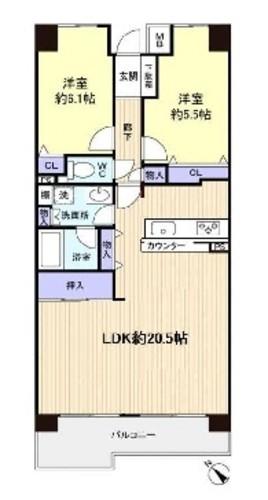 【ベルパーク八千代 F棟 3階】の物件画像
