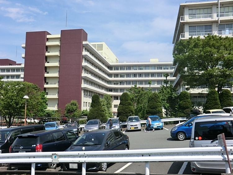 聖マリアンナ医科大学病院 距離約1600m