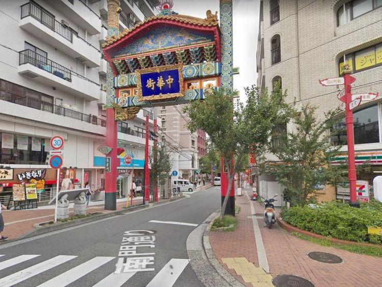 中華街 徒歩2分 140m