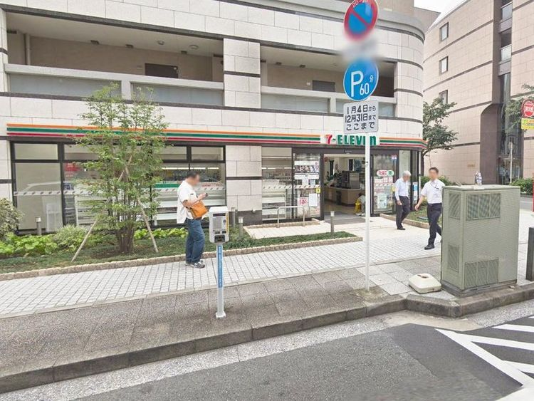 セブン‐イレブン横浜元浜町3丁目店 徒歩1分 80m