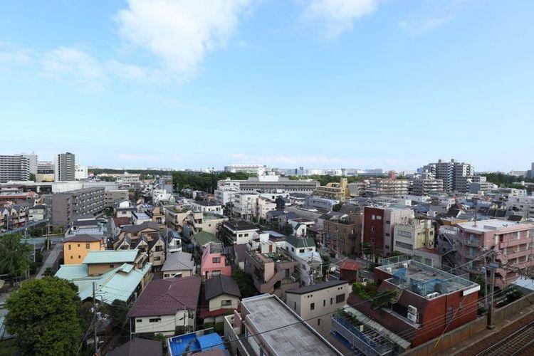 「眺望」10階部分につき開放感溢れる眺望が広がります。