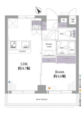 ライオンズマンション上野毛第3(503)の物件画像