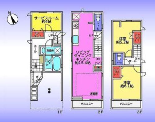 東京都板橋区前野町六丁目の物件の物件画像