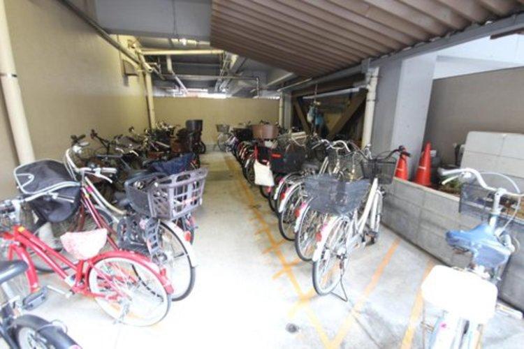 もちろん駐輪場も併設されております♪