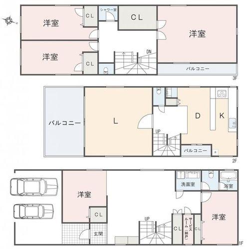世田谷区上野毛1丁目 戸建の物件画像