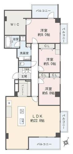 御殿山スカイマンション(206)の画像