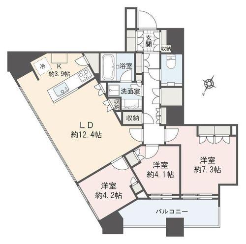 勝どきザ・タワー(2905)の物件画像