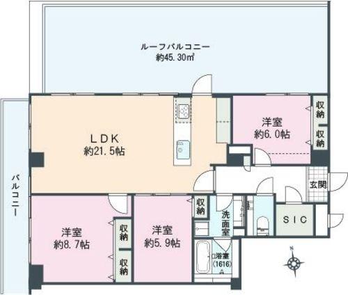 ライオンズマンション広尾第2(504)の物件画像
