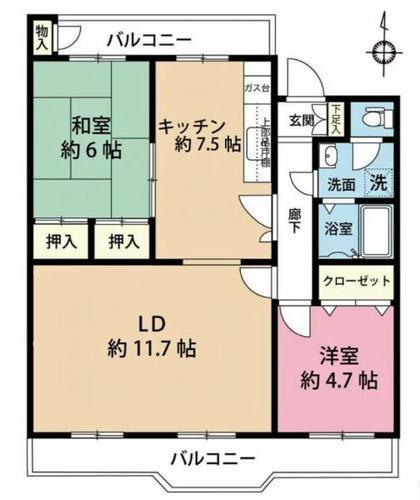 東浦和住宅7号棟の物件画像