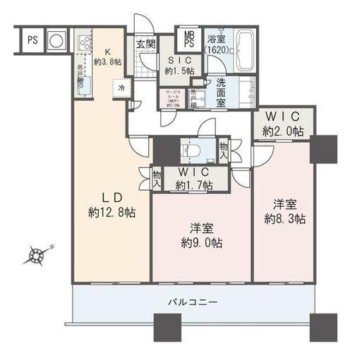 ザ パークハウス西新宿タワー60(-)の物件画像