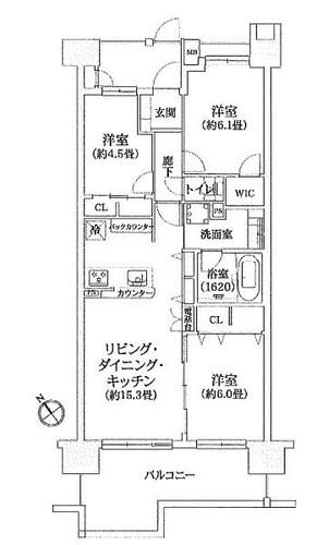 パークスクエア長津田の物件画像