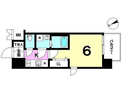 ジュネーゼグラン福島Nodaの物件画像