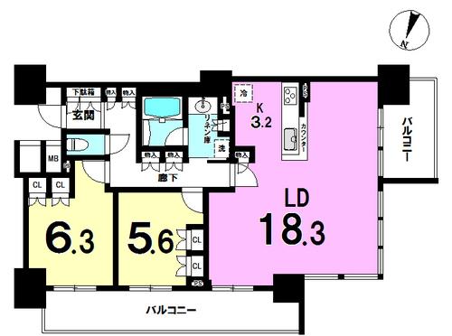 シティタワー大阪福島の物件画像