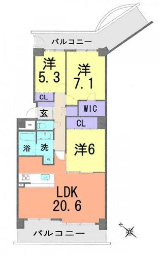 東急ドエル・ステージ21センターコート四番館の物件画像