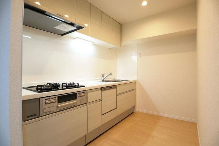 「キッチン」調理中の汚れなどを気にすることなく、集中して調理に取り組める独立型キッチン