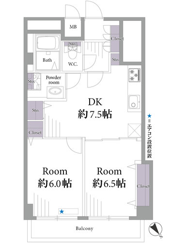 小石川安藤坂東方マンション(221)の物件画像