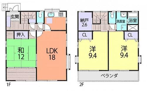 春日部市増田新田 中古住宅の物件画像