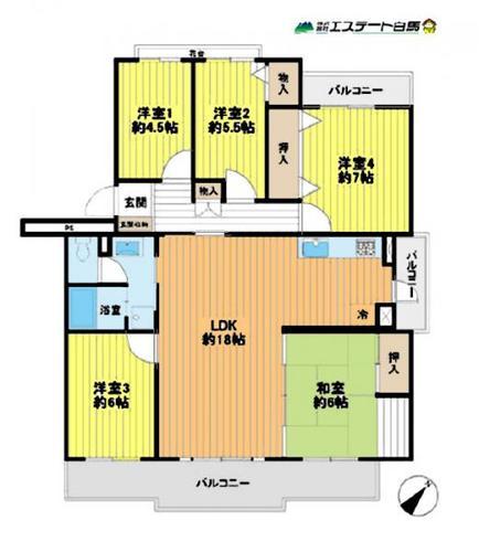 新座リバーサイド住宅第壱八ー壱五号棟の物件画像