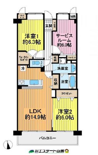 ライオンズマンション西武柳沢第三の物件画像