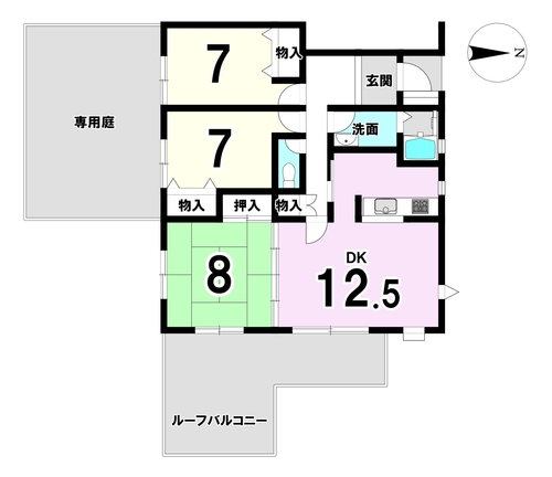 中古マンション パークヒルズくすのき坂第9号棟の物件画像