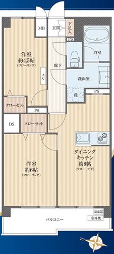 朝日板橋マンションの物件画像