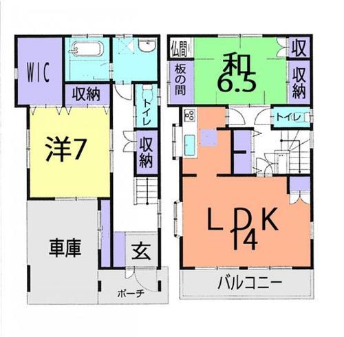 富士見市関沢3丁目 中古戸建の画像