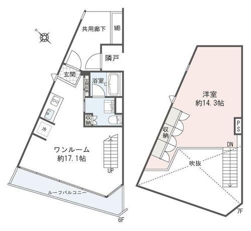 プラウドジェム渋谷神南(601)の物件画像