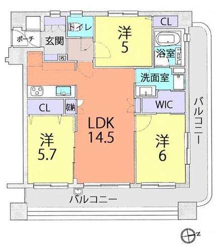 ダイアパレス武蔵浦和5の物件画像