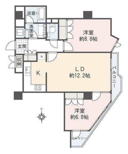 ドムス乃木坂(3--)の物件画像